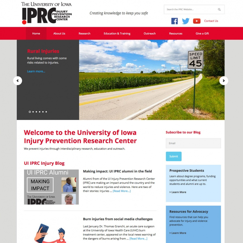 University of Iowa - IPRC